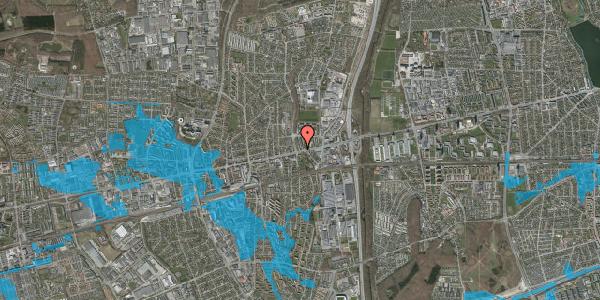 Oversvømmelsesrisiko fra vandløb på Byparkvej 2, 2. th, 2600 Glostrup