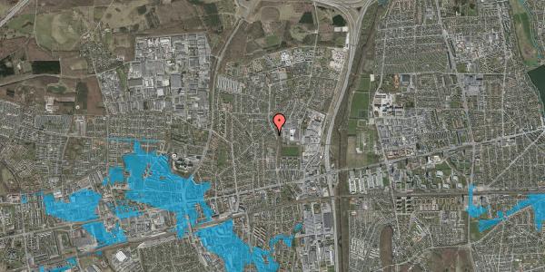 Oversvømmelsesrisiko fra vandløb på Byparkvej 87, st. 119, 2600 Glostrup