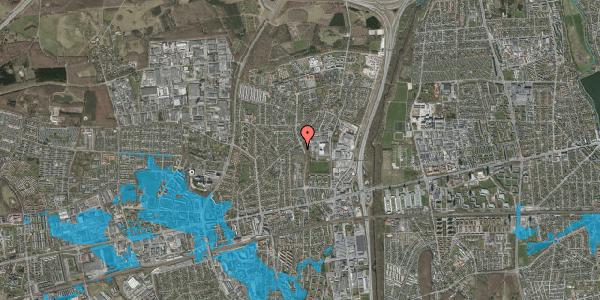 Oversvømmelsesrisiko fra vandløb på Byparkvej 87, 1. 214, 2600 Glostrup