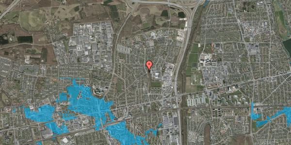 Oversvømmelsesrisiko fra vandløb på Byparkvej 91, 2600 Glostrup