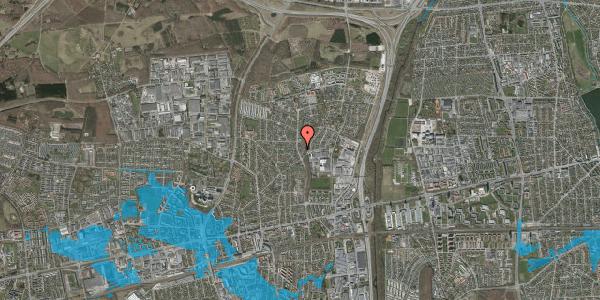 Oversvømmelsesrisiko fra vandløb på Byparkvej 102, 2600 Glostrup