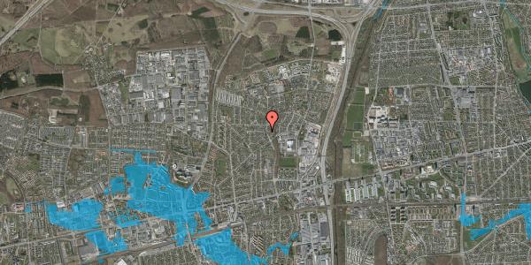 Oversvømmelsesrisiko fra vandløb på Byparkvej 103, 2600 Glostrup