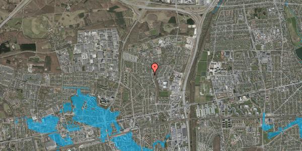Oversvømmelsesrisiko fra vandløb på Byparkvej 107, 2600 Glostrup