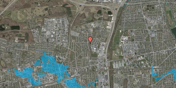 Oversvømmelsesrisiko fra vandløb på Byparkvej 108, 2600 Glostrup