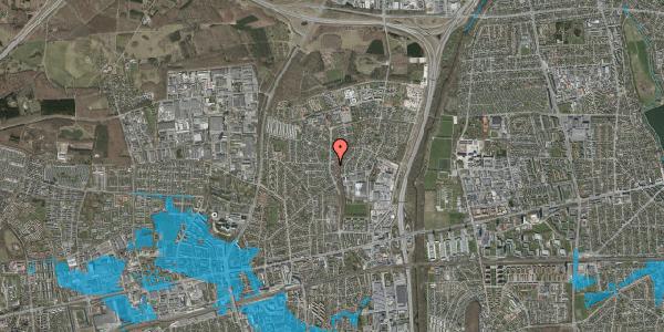 Oversvømmelsesrisiko fra vandløb på Byparkvej 110, 2600 Glostrup