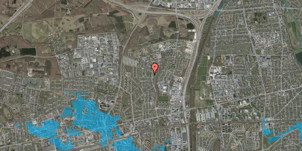 Oversvømmelsesrisiko fra vandløb på Byparkvej 117, 2600 Glostrup