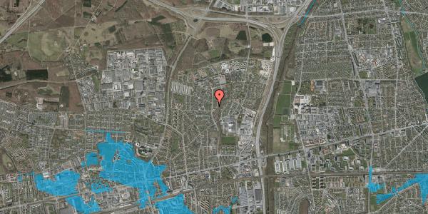 Oversvømmelsesrisiko fra vandløb på Byparkvej 118, 2600 Glostrup
