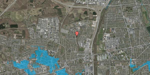 Oversvømmelsesrisiko fra vandløb på Byparkvej 119, 2600 Glostrup
