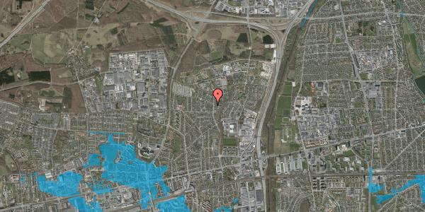 Oversvømmelsesrisiko fra vandløb på Byparkvej 123, 2600 Glostrup