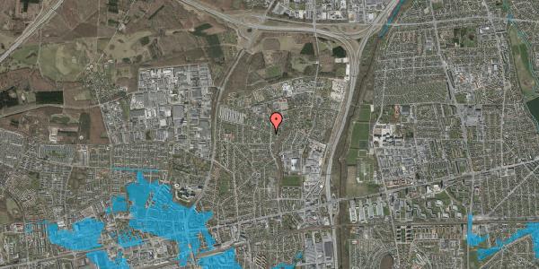 Oversvømmelsesrisiko fra vandløb på Byparkvej 125, 2600 Glostrup