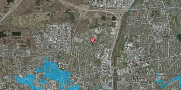 Oversvømmelsesrisiko fra vandløb på Byparkvej 127, 2600 Glostrup
