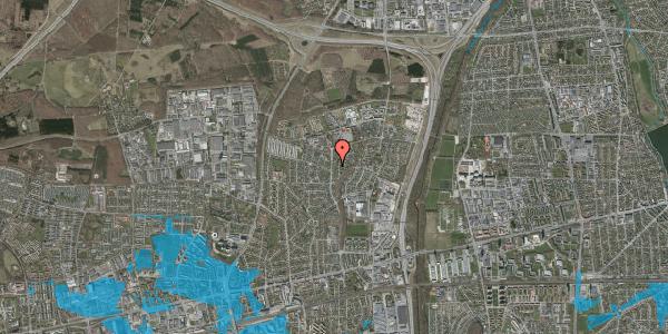 Oversvømmelsesrisiko fra vandløb på Byparkvej 130, 2600 Glostrup
