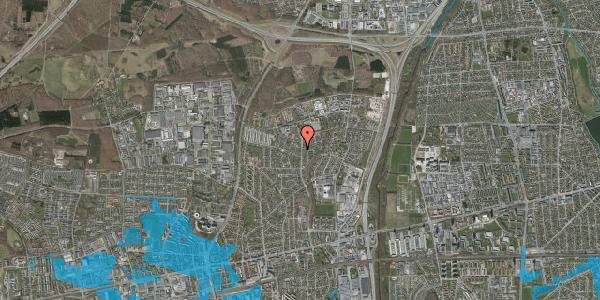 Oversvømmelsesrisiko fra vandløb på Byparkvej 131, 2600 Glostrup