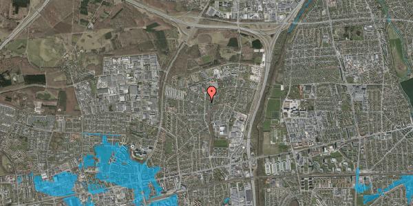 Oversvømmelsesrisiko fra vandløb på Byparkvej 132, 2600 Glostrup