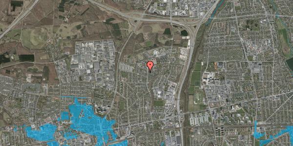 Oversvømmelsesrisiko fra vandløb på Byparkvej 133, 2600 Glostrup