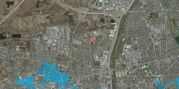 Oversvømmelsesrisiko fra vandløb på Byparkvej 135, 2600 Glostrup