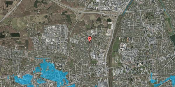 Oversvømmelsesrisiko fra vandløb på Byparkvej 138, 2600 Glostrup