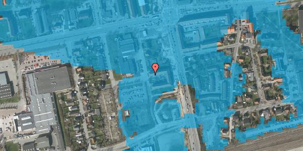 Oversvømmelsesrisiko fra vandløb på Christiansvej 7, 2. th, 2600 Glostrup