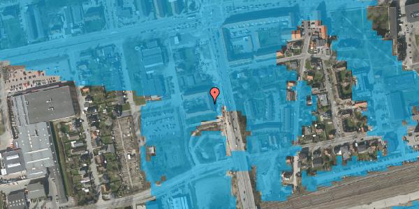 Oversvømmelsesrisiko fra vandløb på Christiansvej 15, 1. th, 2600 Glostrup