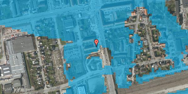 Oversvømmelsesrisiko fra vandløb på Christiansvej 17, st. th, 2600 Glostrup