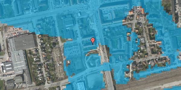 Oversvømmelsesrisiko fra vandløb på Christiansvej 19, 1. th, 2600 Glostrup