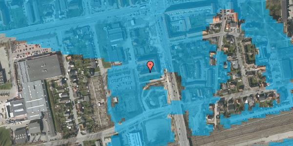 Oversvømmelsesrisiko fra vandløb på Christiansvej 21, st. th, 2600 Glostrup