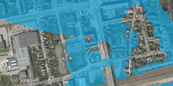 Oversvømmelsesrisiko fra vandløb på Christiansvej 23, st. th, 2600 Glostrup