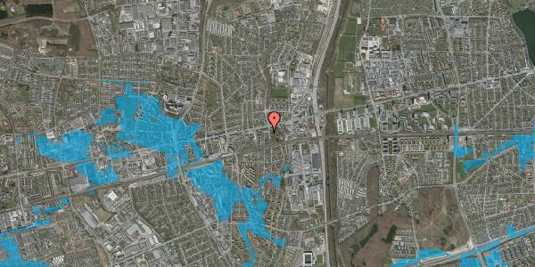 Oversvømmelsesrisiko fra vandløb på Clarasvej 1, 2600 Glostrup