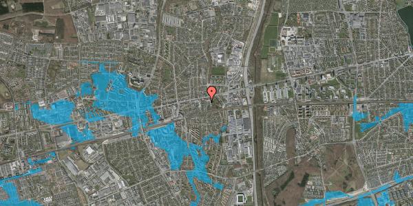 Oversvømmelsesrisiko fra vandløb på Clarasvej 6, 2600 Glostrup