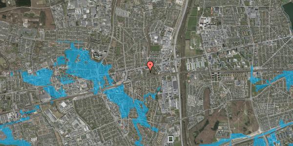 Oversvømmelsesrisiko fra vandløb på Clarasvej 12, 2600 Glostrup