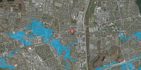 Oversvømmelsesrisiko fra vandløb på Clarasvej 13, 2600 Glostrup