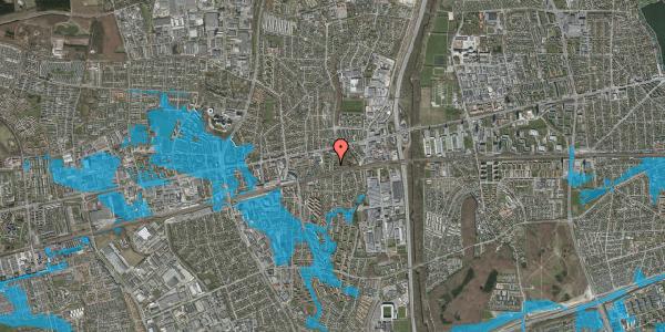 Oversvømmelsesrisiko fra vandløb på Clarasvej 16, 2600 Glostrup