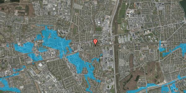 Oversvømmelsesrisiko fra vandløb på Clarasvej 18, 2600 Glostrup