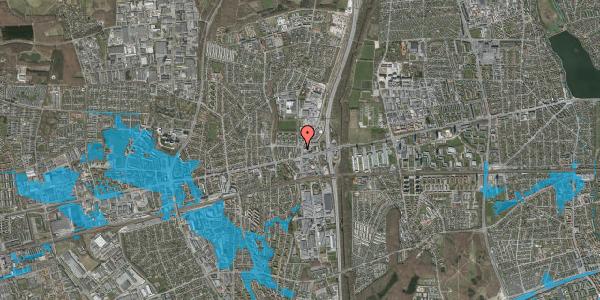 Oversvømmelsesrisiko fra vandløb på Dalvangsvej 1, st. th, 2600 Glostrup