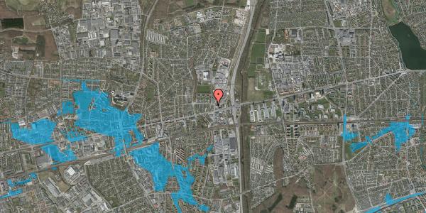 Oversvømmelsesrisiko fra vandløb på Dalvangsvej 1, 2. th, 2600 Glostrup