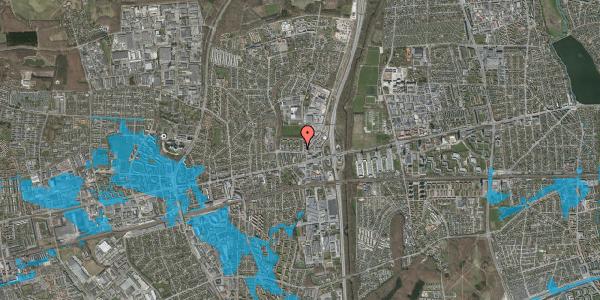 Oversvømmelsesrisiko fra vandløb på Dalvangsvej 2, st. th, 2600 Glostrup