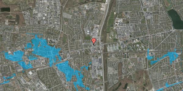 Oversvømmelsesrisiko fra vandløb på Dalvangsvej 3, st. th, 2600 Glostrup