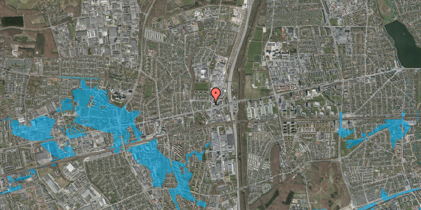 Oversvømmelsesrisiko fra vandløb på Dalvangsvej 5, 2. th, 2600 Glostrup