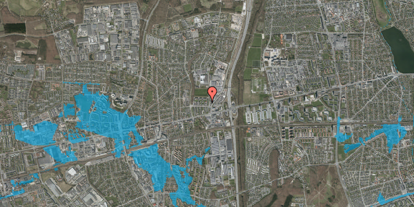 Oversvømmelsesrisiko fra vandløb på Dalvangsvej 6, 2. tv, 2600 Glostrup