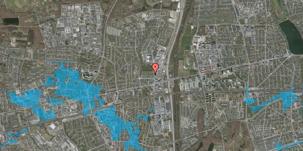 Oversvømmelsesrisiko fra vandløb på Dalvangsvej 8, 2. th, 2600 Glostrup