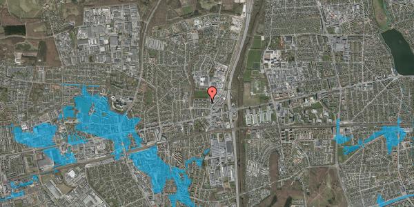 Oversvømmelsesrisiko fra vandløb på Dalvangsvej 10, st. tv, 2600 Glostrup