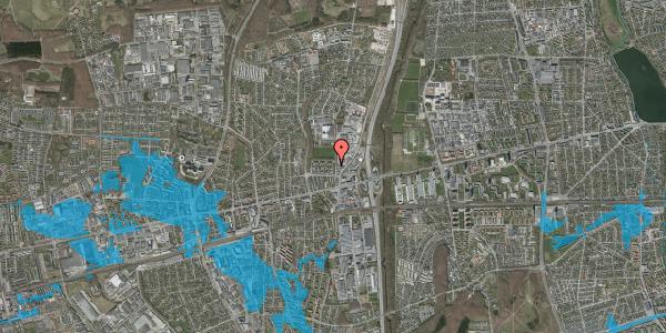 Oversvømmelsesrisiko fra vandløb på Dalvangsvej 12, st. th, 2600 Glostrup