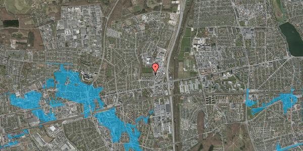 Oversvømmelsesrisiko fra vandløb på Dalvangsvej 16, 1. th, 2600 Glostrup