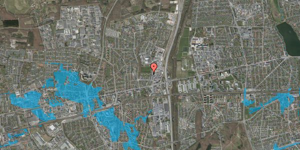 Oversvømmelsesrisiko fra vandløb på Dalvangsvej 16, 2. tv, 2600 Glostrup