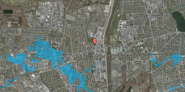 Oversvømmelsesrisiko fra vandløb på Dalvangsvej 18, st. th, 2600 Glostrup