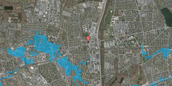 Oversvømmelsesrisiko fra vandløb på Dalvangsvej 21, st. th, 2600 Glostrup
