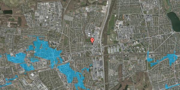 Oversvømmelsesrisiko fra vandløb på Dalvangsvej 22, st. tv, 2600 Glostrup