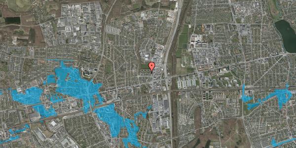 Oversvømmelsesrisiko fra vandløb på Dalvangsvej 24, st. th, 2600 Glostrup