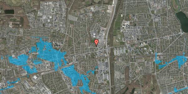 Oversvømmelsesrisiko fra vandløb på Dalvangsvej 26, st. tv, 2600 Glostrup
