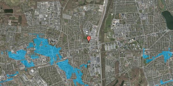 Oversvømmelsesrisiko fra vandløb på Dalvangsvej 26, 2. th, 2600 Glostrup